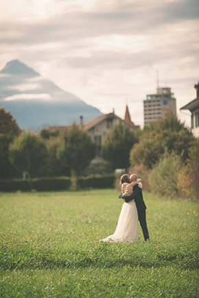wedding locations switzerland A Swiss Elopement