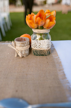 burlap weddings