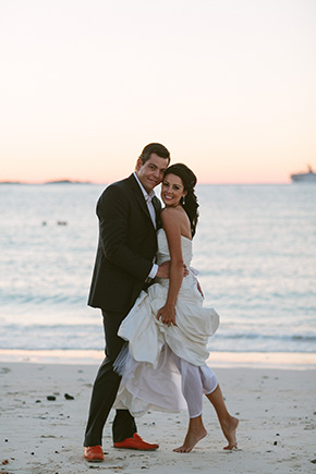 destination wedding photographers2 A Brightly Colored Beach Wedding in the Bahamas