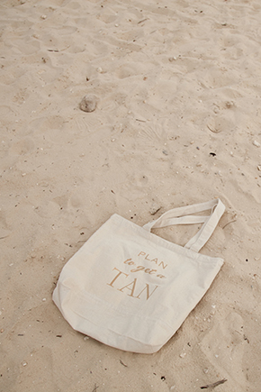 destination wedding welcome bags A Beach Wedding in Punta Cana, Dominican Republic