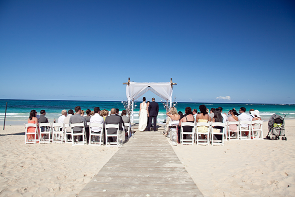 domincan republic destination wedding A Beach Wedding in Punta Cana, Dominican Republic