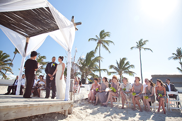domincan republic destination weddings A Beach Wedding in Punta Cana, Dominican Republic