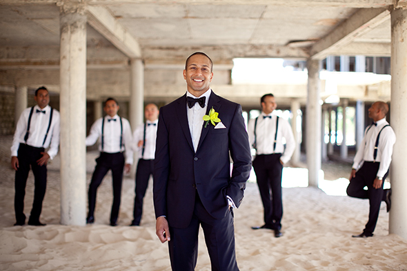 groom tuxedos A Beach Wedding in Punta Cana, Dominican Republic