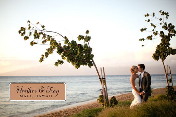 hawaii destination wedding A Sweet Destination Wedding in Maui, Hawaii