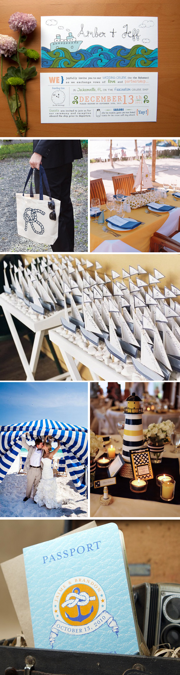 nautical themed weddings