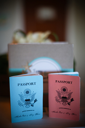 passport wedding invitations A Sweet Destination Wedding in Maui, Hawaii