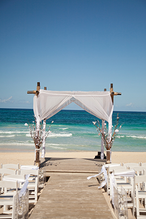 punta cana wedding locations A Beach Wedding in Punta Cana, Dominican Republic