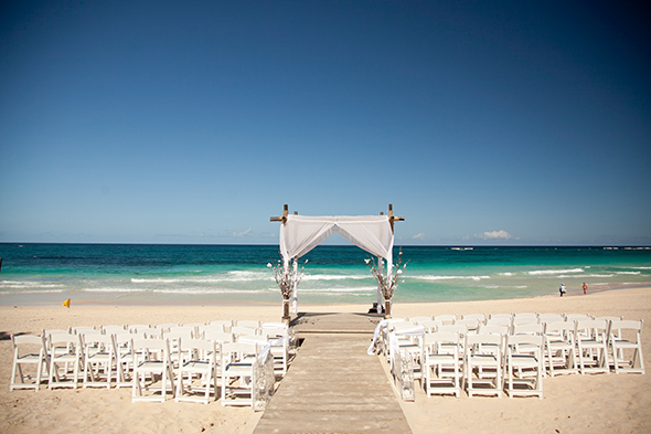 punta cana weddings A Beach Wedding in Punta Cana, Dominican Republic
