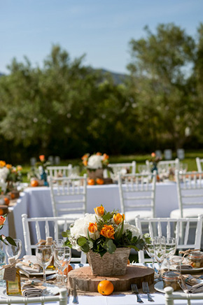 tangerine weddings A Colorful Destination Wedding in Malaga, Spain