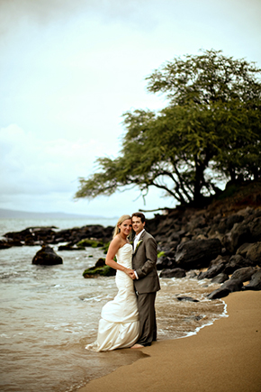 trash the dress session A Sweet Destination Wedding in Maui, Hawaii