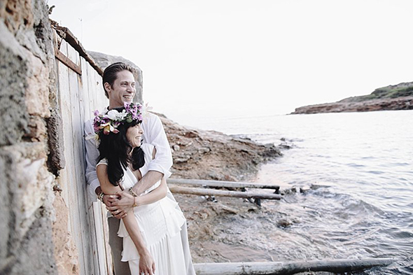 beach destination wedding Beach Destination Wedding in Ibiza, Spain