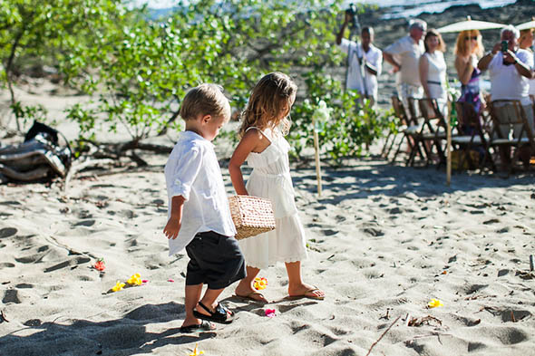 beach wedding ideas A Rustic Beach Wedding in Tamarindo, Costa Rica