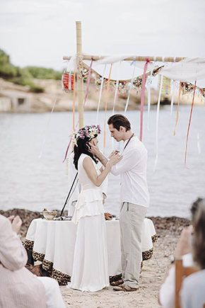 beach wedding Beach Destination Wedding in Ibiza, Spain