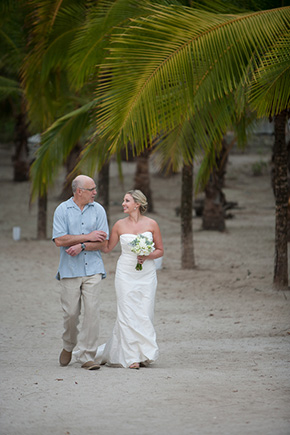 beach weddings4 Chevron Inspired Beach Wedding in Costa Rica