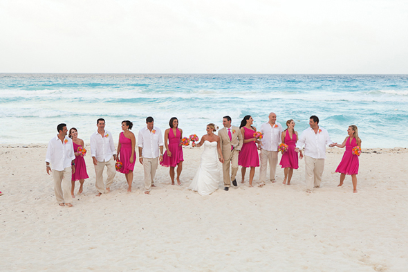beach weddings5 Beach Wedding in Cancun, Mexico
