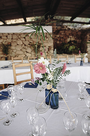 blue and pink weddings Beach Destination Wedding in Ibiza, Spain