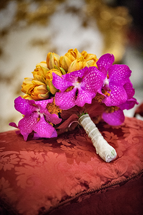 bright bridal bouquets