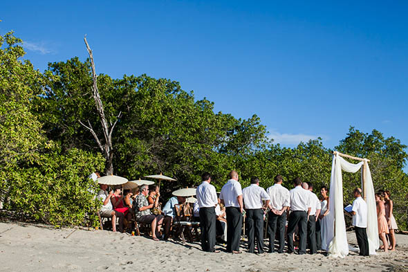 costa rica beach weddings A Rustic Beach Wedding in Tamarindo, Costa Rica