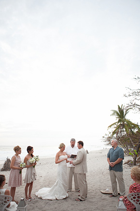 costa rica beach weddings2 Chevron Inspired Beach Wedding in Costa Rica