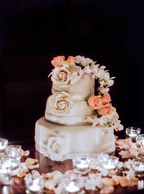 costa rica wedding cake