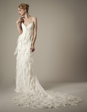 couture wedding dress Elizabeth Fillmore Spring 2014 Wedding Dresses