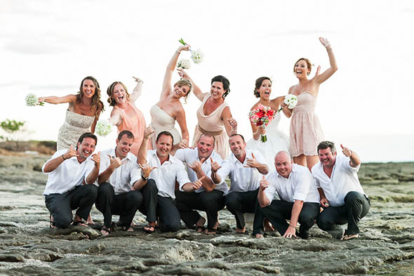 destination wedding attire A Rustic Beach Wedding in Tamarindo, Costa Rica