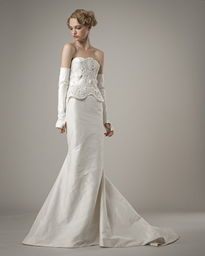 destination wedding dress Elizabeth Fillmore Spring 2014 Wedding Dresses