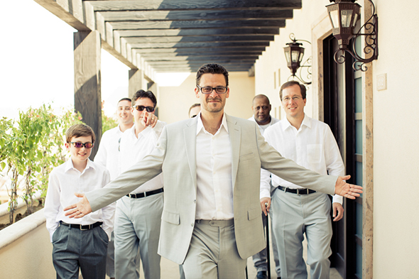 destination wedding grooms suits A Modern Destination Wedding in Cabo San Lucas, Mexico