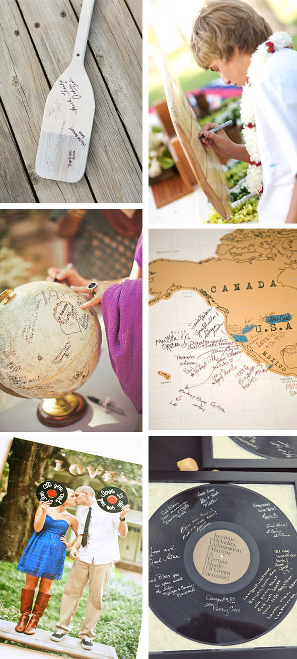 destination wedding guest books