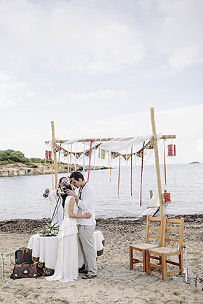 destination wedding ibiza Beach Destination Wedding in Ibiza, Spain
