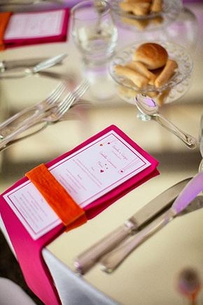 destination wedding menu A Colorful Destination Wedding on the Italian Riviera