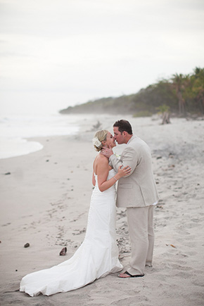 destination wedding photographer3 Chevron Inspired Beach Wedding in Costa Rica