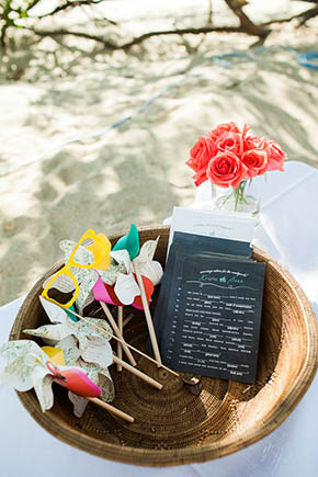 destination wedding4 A Rustic Beach Wedding in Tamarindo, Costa Rica