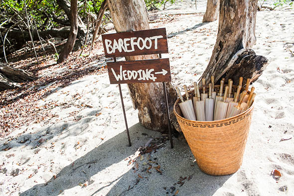 destination weddings5 A Rustic Beach Wedding in Tamarindo, Costa Rica