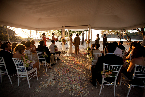 four seasons costa rica weddings A Tented Wedding in Costa Rica