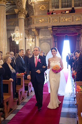 italy church weddings A Colorful Destination Wedding on the Italian Riviera