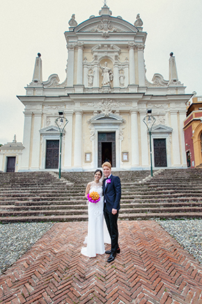 italy destination weddings A Colorful Destination Wedding on the Italian Riviera