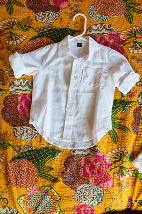 ring bearer outfit A Rustic Beach Wedding in Tamarindo, Costa Rica