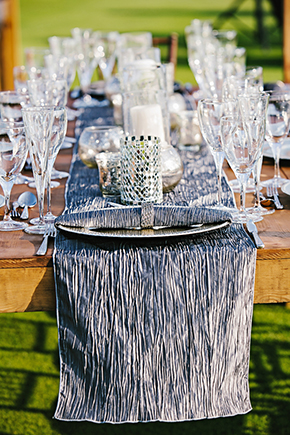 silver wedding A Modern Destination Wedding in Cabo San Lucas, Mexico