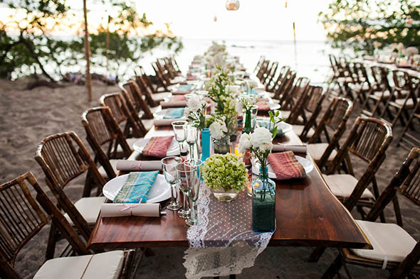 tropical occasions costa rica A Rustic Beach Wedding in Tamarindo, Costa Rica