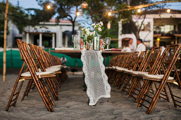 tropical occasions A Rustic Beach Wedding in Tamarindo, Costa Rica