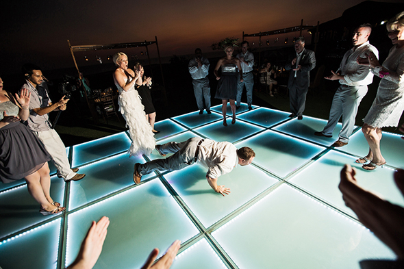 wedding dance floor ideas A Modern Destination Wedding in Cabo San Lucas, Mexico