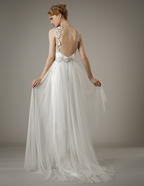 wedding dress destination weddings Elizabeth Fillmore Spring 2014 Wedding Dresses