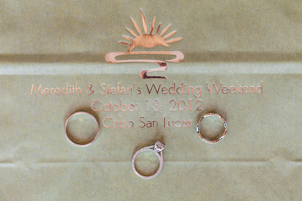 wedding welcome bags A Modern Destination Wedding in Cabo San Lucas, Mexico