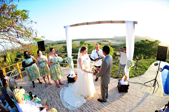 Destination Wedding Dress Costa Rica Locations