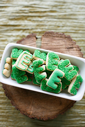 custom wedding cookies Destination Wedding Welcome Bag Ideas from Engage!13