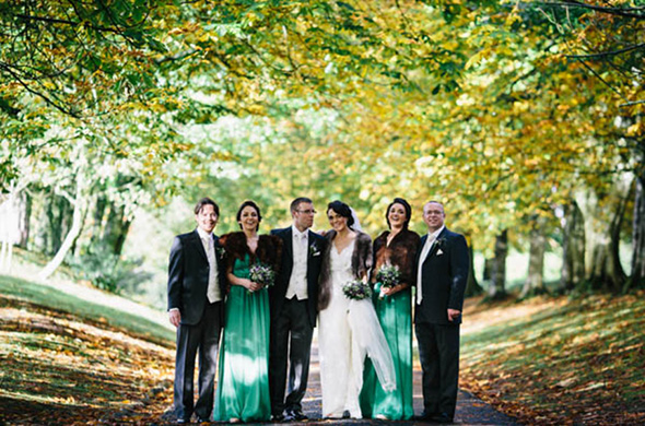 fall weddings A Rustic Wedding in Ireland