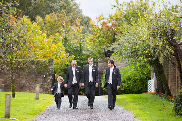 groomsmen attire A Rustic Wedding in Ireland