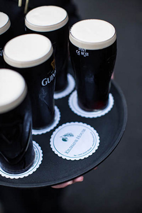 guiness weddings