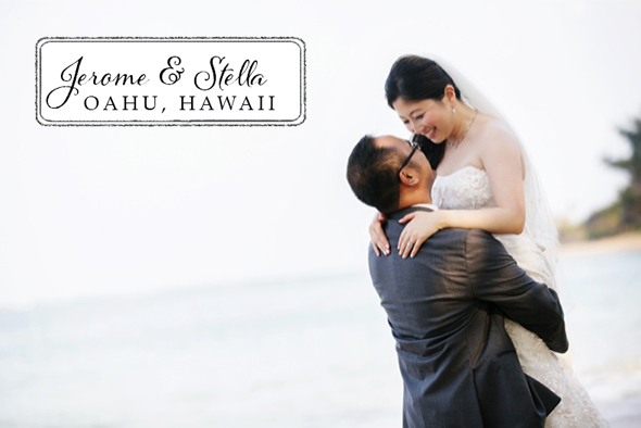 oahu beach wedding Oahu, Hawaii Destination Wedding Goodness